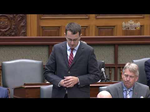 MPP McNaughton Questions Minister of Energy on Bill 146, September 21, 2017