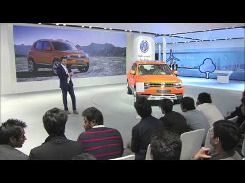 Design Workshop at the Auto Expo 2014 -- by Mr. Romulus Rost.