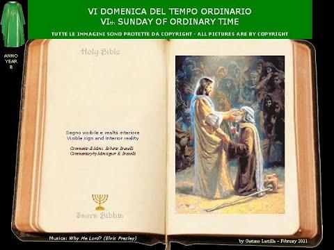 """Gesù ci libera dalla LEBBRA del peccato.""""Se vuoi puoi puriificarmi!""""""""If you so will, you can make me clean!"""""""