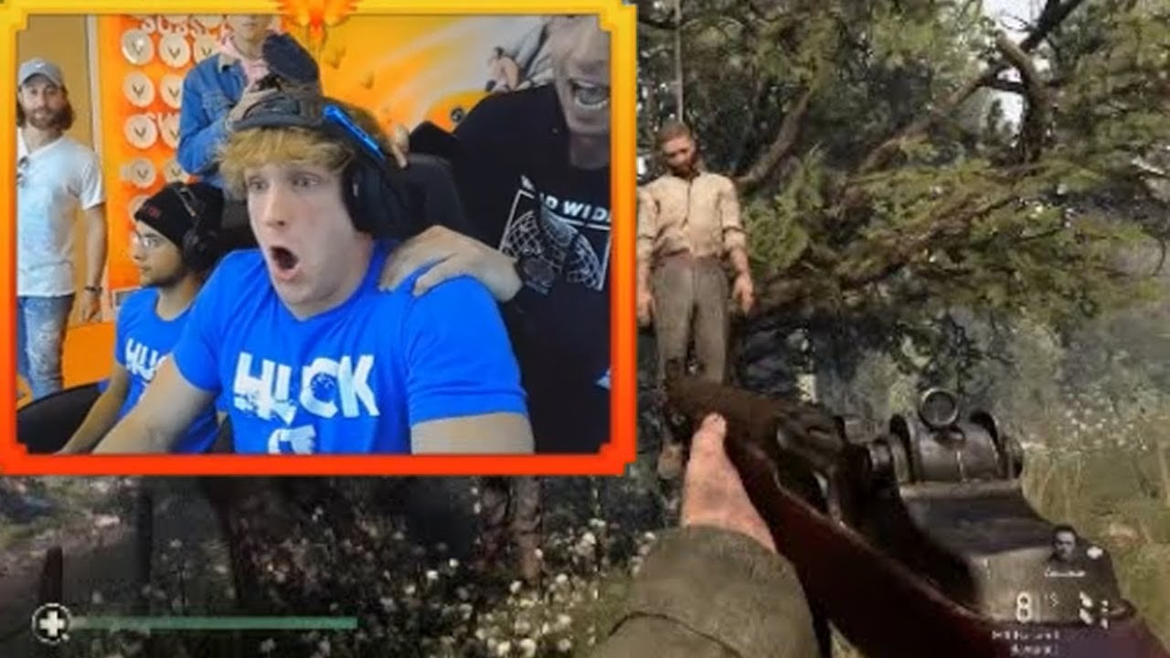 Hanging Out In Logan Paul S First Stream Youtube