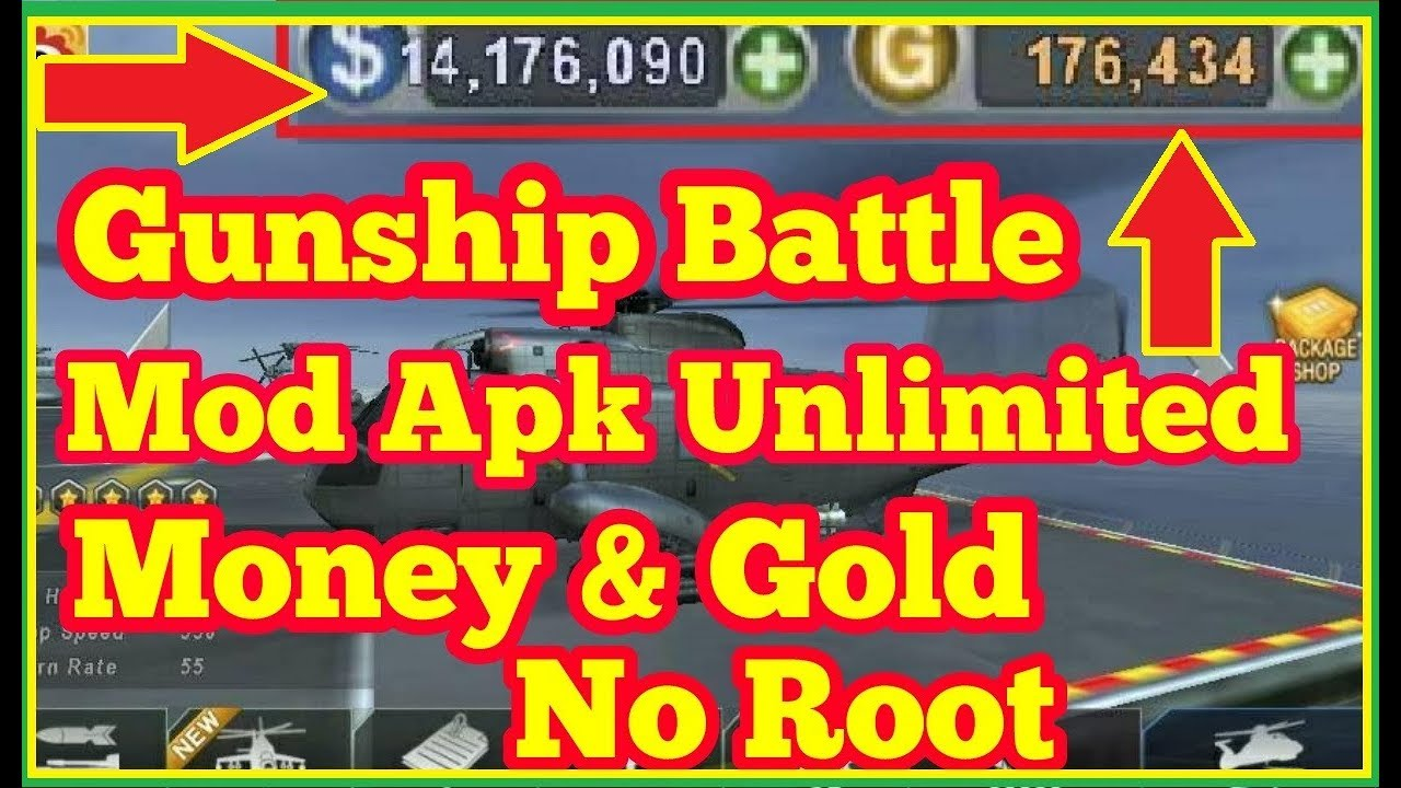 how to get unlimited gold in gunship battle