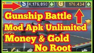 Original Mod Gunship Battle Mod Apk Unlimited Gold No Root