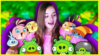 Самая Няшная Игра ♥ Angry Birds Stella / Детка Геймер #39