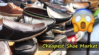 Cheapest Shoe Market in Kolkata | Padmapukur Juto Bazaar | Leather Shoes, Bags, Belts and Jackets