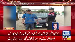 The Dolphin Squad timely action, car thief arrested