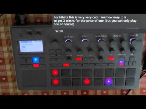 Electribe 2 Tutorial   Amazing Motion Sequence Trick