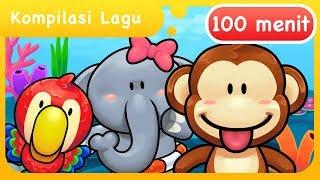 Gambar cover Kompilasi Lagu Anak Indonesia Balita 100 Menit
