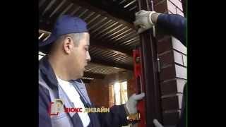 2. Установка одностворчатой металлической двери со стеклом(http://www.dverild.ru/dvery/so-steklom/ Установка одностворчатой металлической двери со стеклом ООО