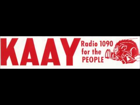 KAAY-AM 1090 kHz Little Rock, AR Thursday, June 07, 1973