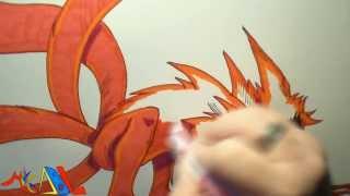 Dibujando a: Naruto Kyubi