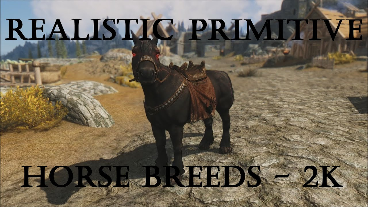 realistic horse breeds # 16
