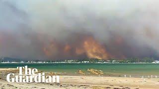 Bushfires bring destruction to NSW south coast communities