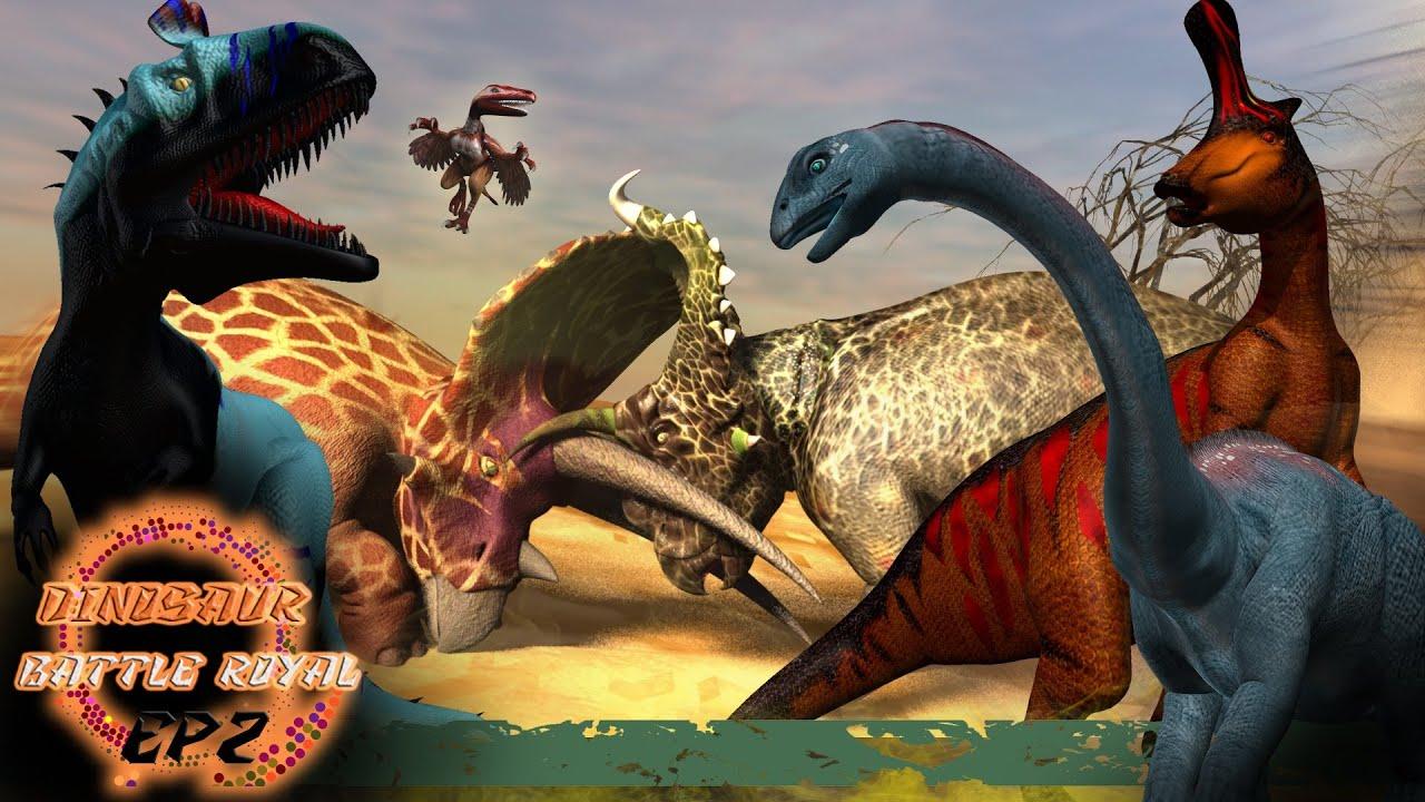 Download Dinosaur Battle Royal  EP2