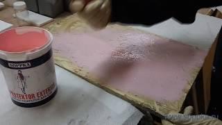 Нанесение огнезащитной краски SOPPKA для OSB(Демонстрация нанесения продукции SOPPKA на OSB плиту. Расход продукции в видео - 192 гр/м2. Подробная информация..., 2016-08-07T19:47:58.000Z)