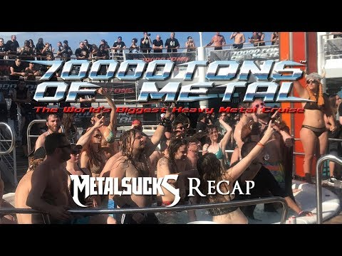 70,000 Tons of Metal 2018 Highlights