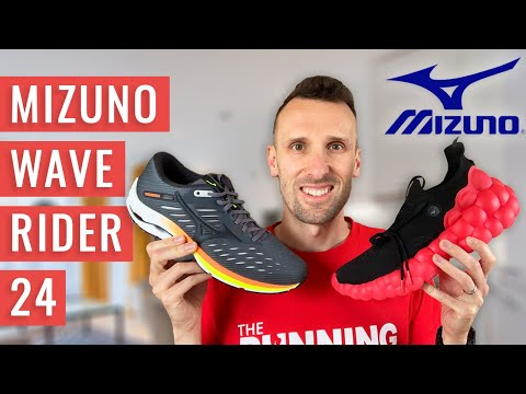 FIRST LOOK! Mizuno Wave Rider 24 | Revolutionary NEW Enerzy Cushioning