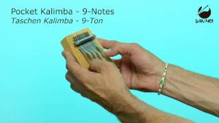 Pocket Kalimba - 9 Notes