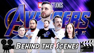 BTS of My Friend Watches Endgame for the FIRST time