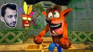 كراش الخورافي!!  Crash Bandicoot