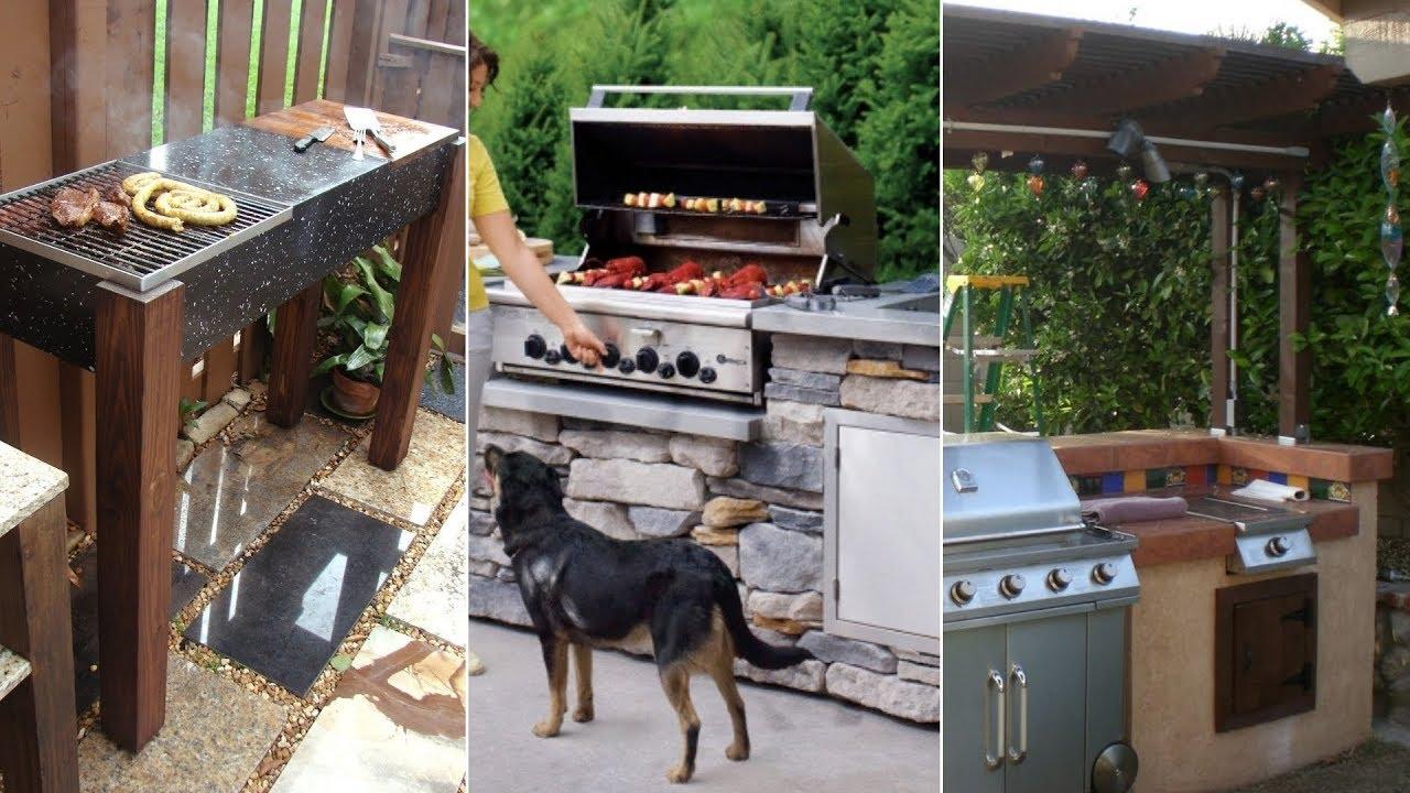 to build backyard grill ideas