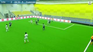 India - Guatemala Live stream WMF World Cup U21 2018