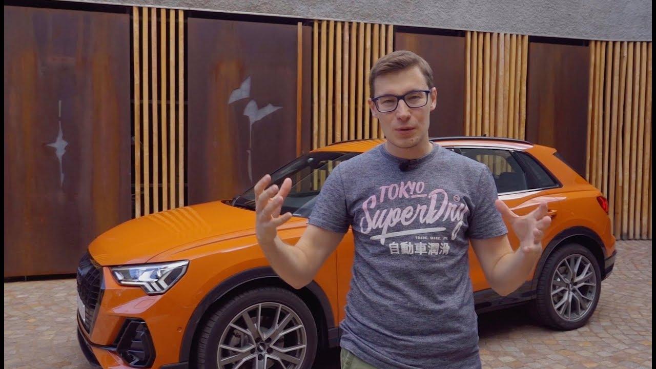 Космос и дисплеи: новый Audi Q3 2019! Тест-драйв и обзор