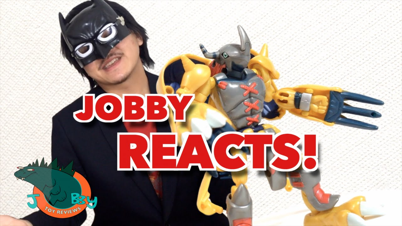 JOBBY REACTS Digivolving WarGreymon Review  YouTube