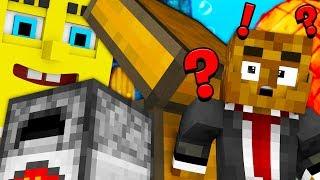 SPONGEBOB HIDE AND SEEK - Modded Minecraft Minigame