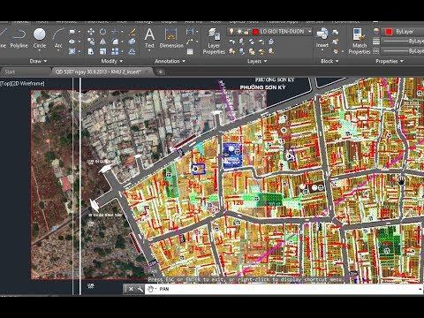 Xuất bản đồ google earth (google map) sang Autocad theo hệ tọa độ VN2000