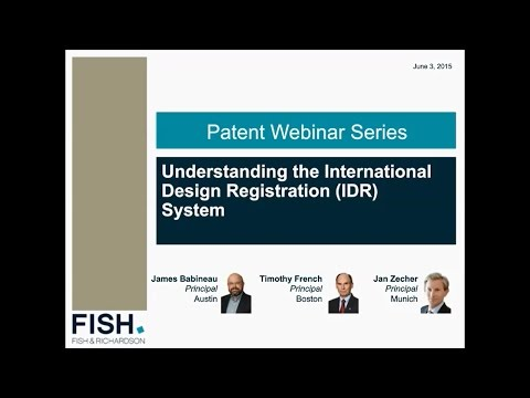 Webinar | Understanding the New International Design Registration (IDR) System