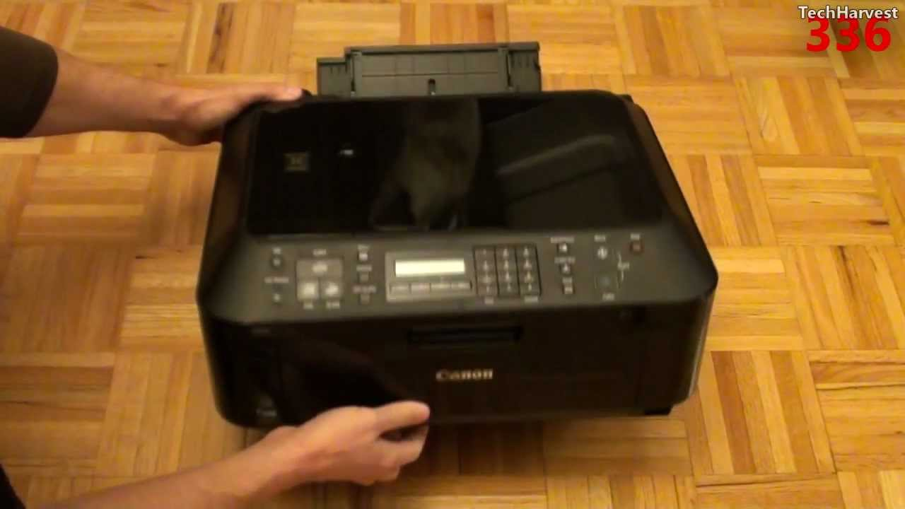 Canon Pixma All In One Printer Mx410 Unboxing Youtube