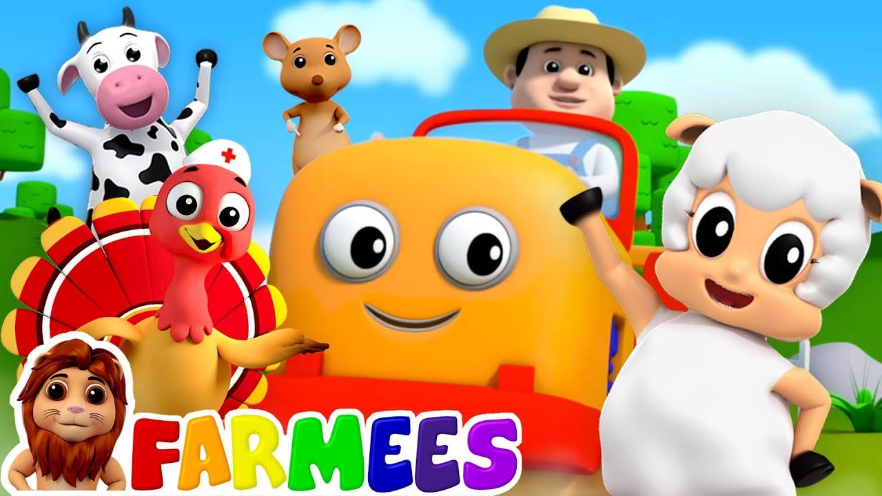 Farmer In The Dell   Kindergarten Nursery Rhymes & Kids Songs   Preschool Music by Farmees