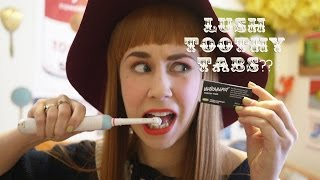 LUSH Toothy Tabs Review | Paulie Antiques Show