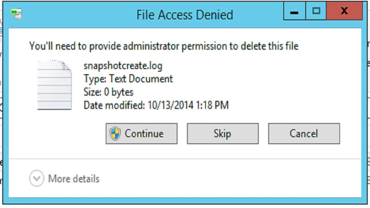 How to delete a File that CAN'T be deleted