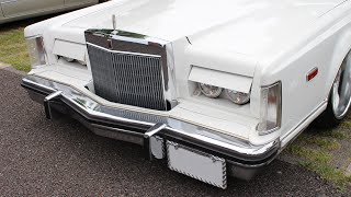 Lincoln Continental Mark V 【Retractable headlights】