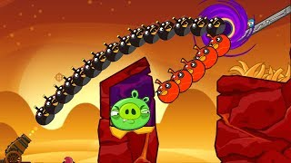 Angry Birds Collection Hacked 3 - PIGGIES GOT BLASTED BY 100 BOMBER...