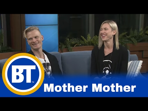 Talking with indie rock band 'Mother Mother'!