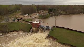 Smallwood Lake Dam Overflows After Edenville Dam Failure