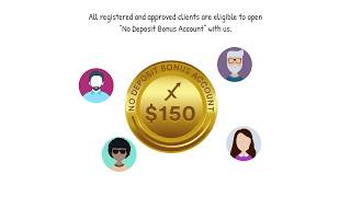 Open a No Deposit Bonus Account with us.