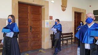 Acto inaugural del curso académico en la Universidad de Oviedo