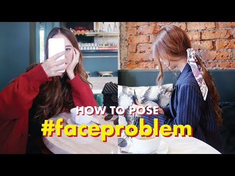 How To Pose For Instagram: #faceproblem 🙈 When Youre Feeling Ugly [4/100]  #100dayswithsoju
