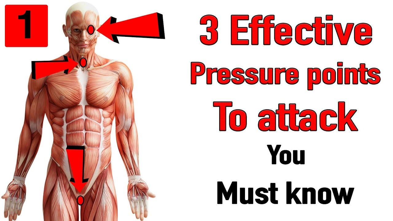 3 Effective Pressure Points To Attack You Must Know Youtube