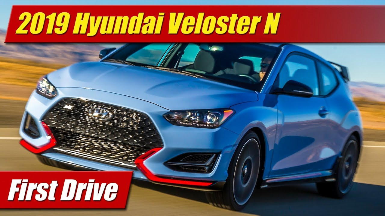 First Drive: 2019 Hyundai Veloster N - TestDriven TV