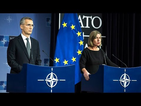 NATO Secretary General with EUHR Mogherini, Foreign Ministers Meeting, 5 DEC 2017, Part 1 of 2