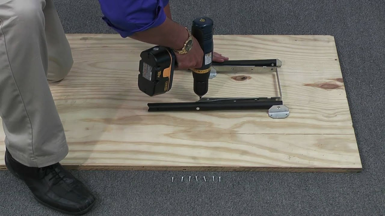 Waddell Folding Table Legs Youtube