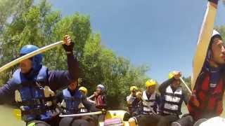 Malatya Sporium Ozan Kanyonu 24 km'lik Rafting Etkinliği (TÜRKİYE DE BİR İLK)