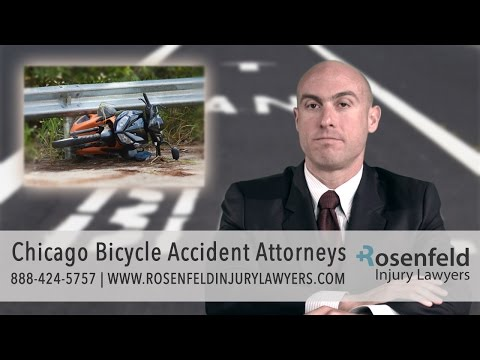 Chicago Bicycle Accident Attorneys - Rosenfeld Injury Lawyers