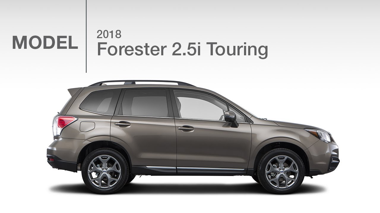 2018 subaru forester touring model review youtube. Black Bedroom Furniture Sets. Home Design Ideas