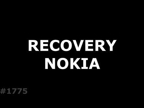 Nokia не заходит в Recovery. Hard Reset Nokia 2.1