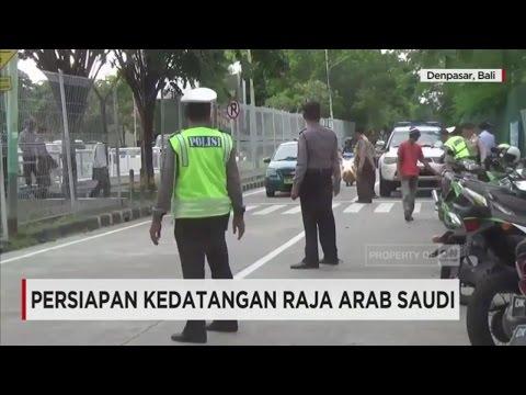 Persiapan Polda Bali Sambut Kedatangan Raja Arab Saudi